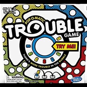 Trouble new Hasbro board family game